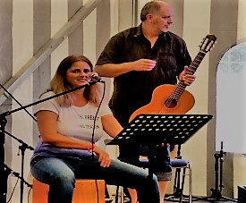 Beloved Child sings songs Heart of Worship Band2